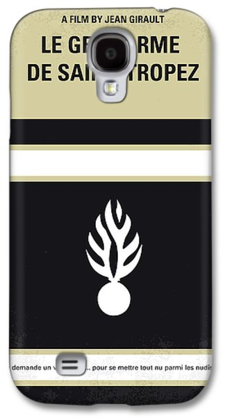 No186 My Le Gendarme De Saint-tropez Minimal Movie Poster Galaxy S4 Case by Chungkong Art