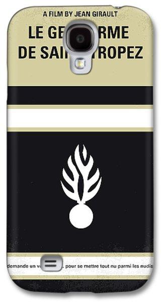 No186 My Le Gendarme De Saint-tropez Minimal Movie Poster Galaxy S4 Case by Chungkong Art