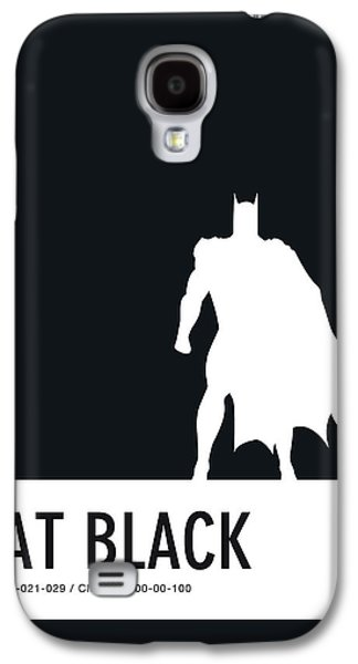 Spider Galaxy S4 Case - No20 My Minimal Color Code Poster Batman by Chungkong Art