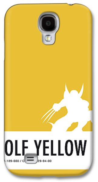 No21 My Minimal Color Code Poster Wolverine Galaxy S4 Case by Chungkong Art