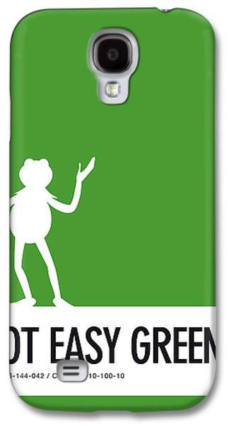 No25 My Minimal Color Code Poster Kermit  Galaxy S4 Case by Chungkong Art