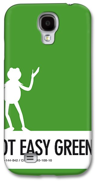 No25 My Minimal Color Code Poster Kermit  Galaxy S4 Case by Chungkong Art
