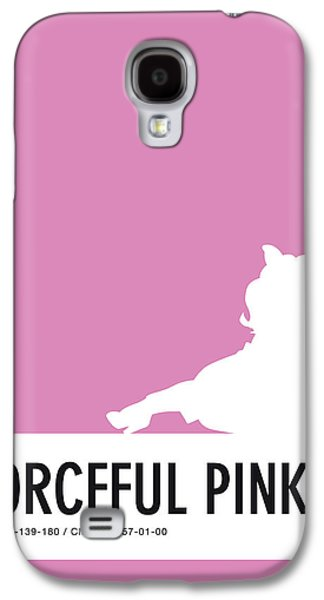 No26 My Minimal Color Code Poster Piggy  Galaxy S4 Case