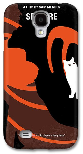No277-007-2 My Spectre Minimal Movie Poster Galaxy S4 Case by Chungkong Art