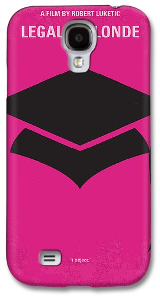 No301 My Legally Blonde Minimal Movie Poster Galaxy S4 Case by Chungkong Art