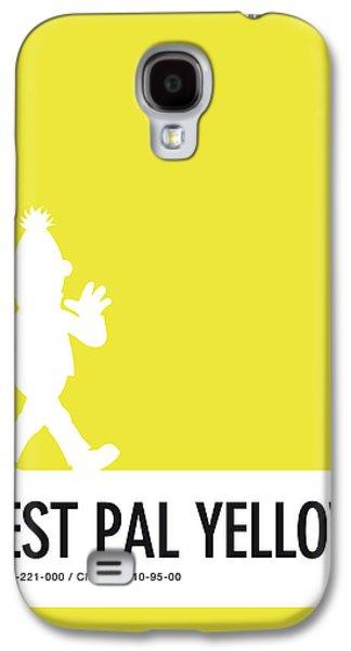 Amphibians Galaxy S4 Case - No31 My Minimal Color Code Poster Bert by Chungkong Art