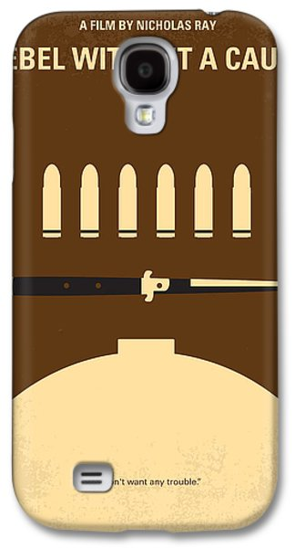 No318 My Rebel Without A Cause Minimal Movie Poster Galaxy S4 Case by Chungkong Art
