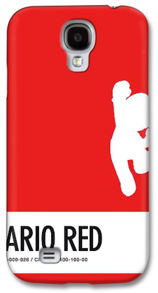 No33 My Minimal Color Code Poster Mario Galaxy S4 Case by Chungkong Art