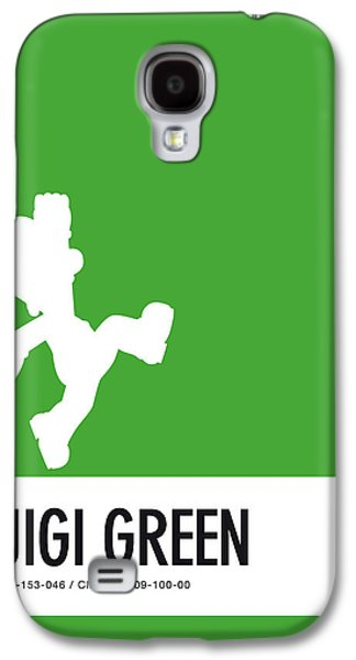 Daisy Galaxy S4 Case - No34 My Minimal Color Code Poster Luigi by Chungkong Art
