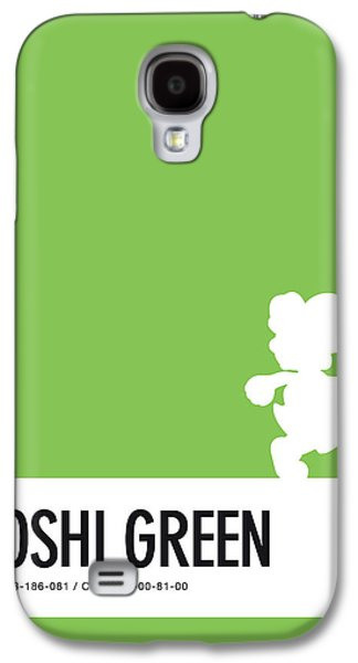 No36 My Minimal Color Code Poster Yoshi Galaxy S4 Case by Chungkong Art
