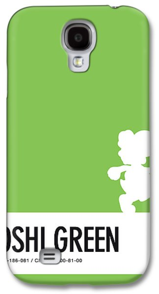 Peach Galaxy S4 Case - No36 My Minimal Color Code Poster Yoshi by Chungkong Art