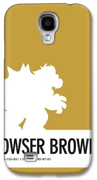 No38 My Minimal Color Code Poster Bowser Galaxy S4 Case by Chungkong Art