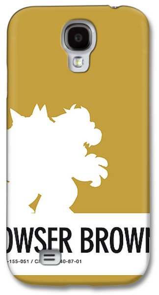 Daisy Galaxy S4 Case - No38 My Minimal Color Code Poster Bowser by Chungkong Art