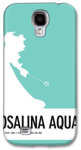 Daisy Galaxy S4 Case - No39 My Minimal Color Code Poster Rosalina by Chungkong Art