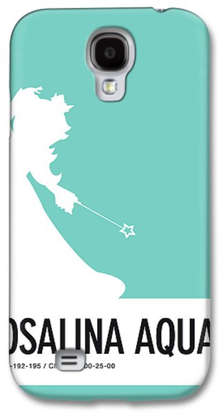 Daisy Galaxy S4 Case - No39 My Minimal Color Code Poster Rosalina by Chungkong Art