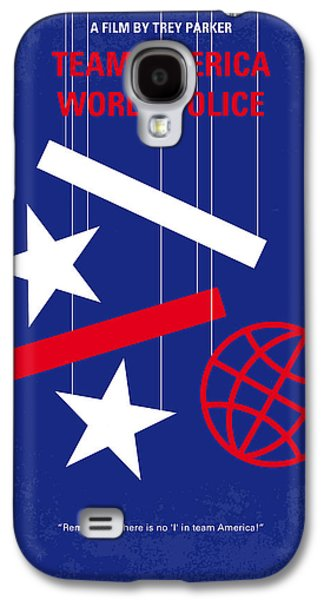 No475 My Team America Minimal Movie Poster Galaxy S4 Case by Chungkong Art