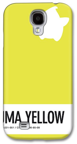 Daisy Galaxy S4 Case - No40 My Minimal Color Code Poster Luma by Chungkong Art