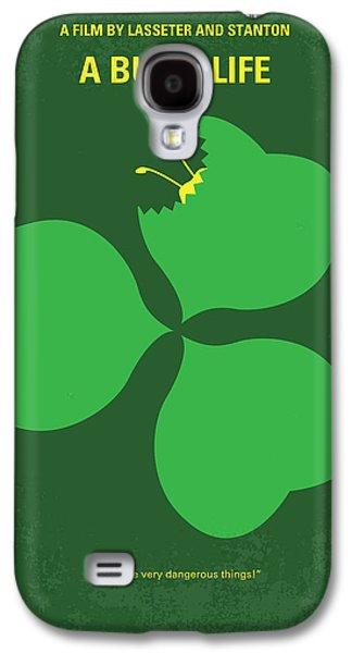 No401 My A Bugs Life Minimal Movie Poster Galaxy S4 Case by Chungkong Art