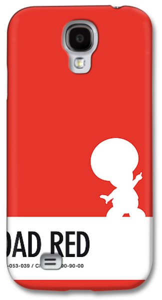 No41 My Minimal Color Code Poster Toad Galaxy S4 Case by Chungkong Art