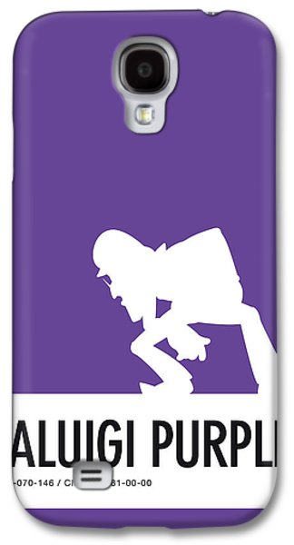 Daisy Galaxy S4 Case - No42 My Minimal Color Code Poster Waluigi by Chungkong Art