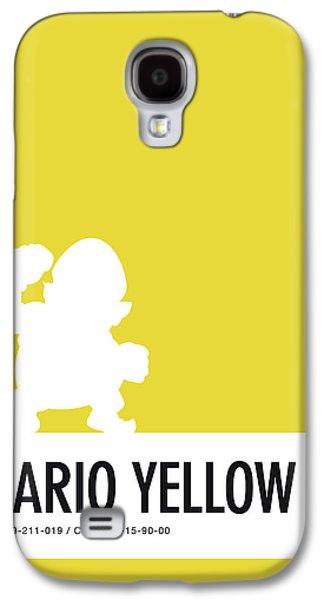 No43 My Minimal Color Code Poster Wario Galaxy S4 Case by Chungkong Art