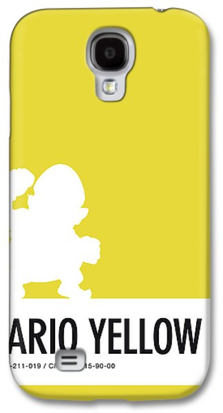 Daisy Galaxy S4 Case - No43 My Minimal Color Code Poster Wario by Chungkong Art