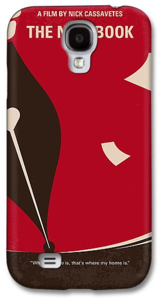 No440 My The Notebook Minimal Movie Poster Galaxy S4 Case
