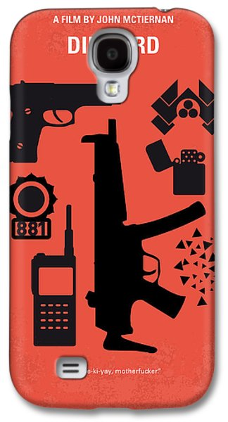No453 My Die Hard Minimal Movie Poster Galaxy S4 Case by Chungkong Art