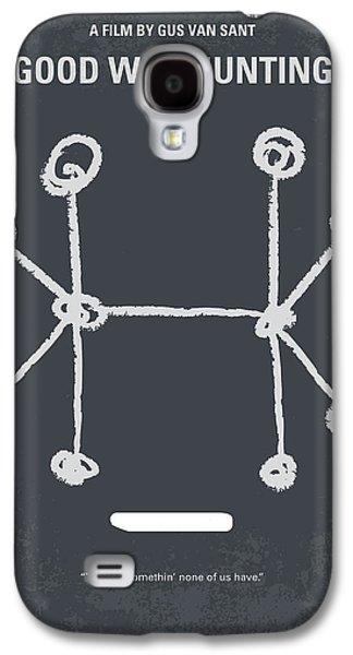 Boston Galaxy S4 Case - No461 My Good Will Hunting Minimal Movie Poster by Chungkong Art