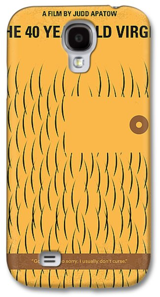 No465 My The 40 Year Old Virgin Minimal Movie Poster Galaxy S4 Case by Chungkong Art
