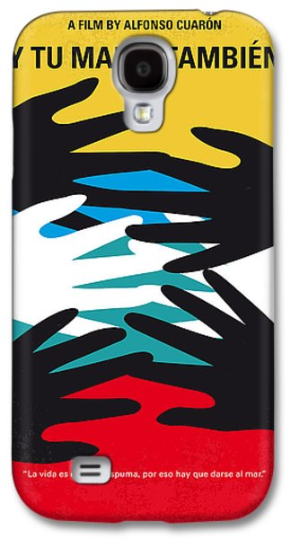 No468 My Y Tu Mama Tambien Minimal Movie Poster Galaxy S4 Case by Chungkong Art