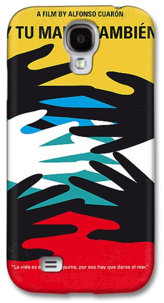 No468 My Y Tu Mama Tambien Minimal Movie Poster Galaxy S4 Case by Chungkong Art
