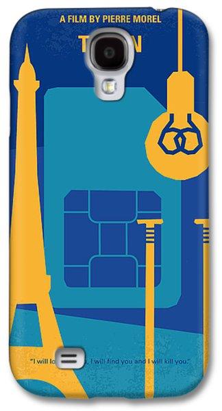 No469 My Taken Minimal Movie Poster Galaxy S4 Case by Chungkong Art