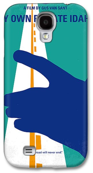 No472 My Own Private Idaho Minimal Movie Poster Galaxy S4 Case