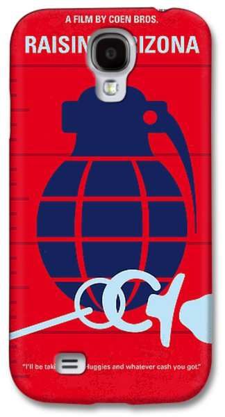 No477 My Raising Arizona Minimal Movie Poster Galaxy S4 Case by Chungkong Art