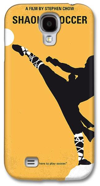 No480 My Shaolin Soccer Minimal Movie Poster Galaxy S4 Case by Chungkong Art