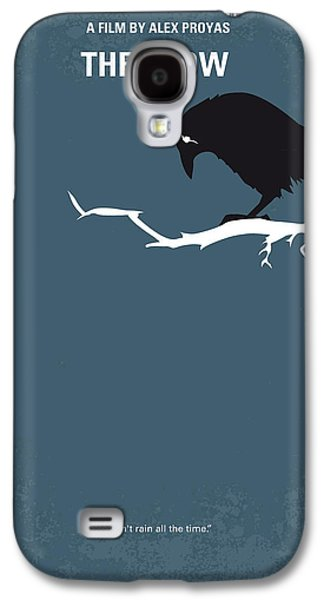 Crow Galaxy S4 Case - No488 My The Crow Minimal Movie Poster by Chungkong Art