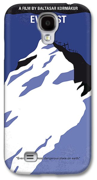 No492 My Everest Minimal Movie Poster Galaxy S4 Case by Chungkong Art