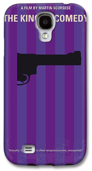 No496 My The King Of Comedy Minimal Movie Poster Galaxy S4 Case by Chungkong Art