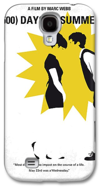 No500 My 500 Days Of Summer Minimal Movie Poster Galaxy S4 Case by Chungkong Art