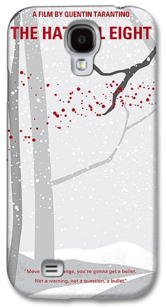 No502 My Hateful Eight Minimal Movie Poster Galaxy S4 Case by Chungkong Art