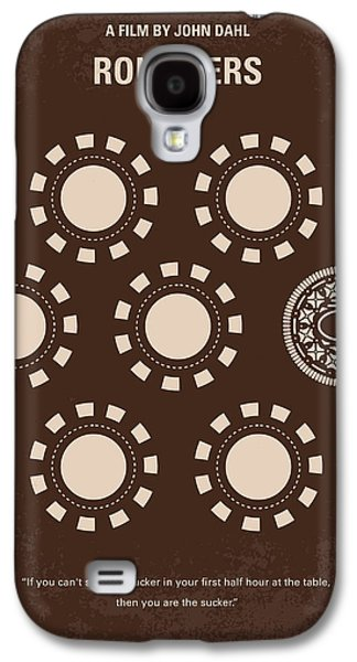 No503 My Rounders Minimal Movie Poster Galaxy S4 Case by Chungkong Art