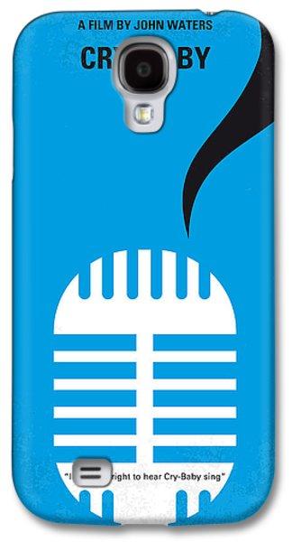 No505 My Cry-baby Minimal Movie Poster Galaxy S4 Case by Chungkong Art