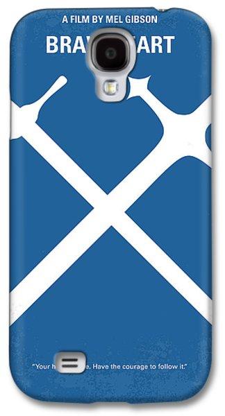 No507 My Braveheart Minimal Movie Poster Galaxy S4 Case
