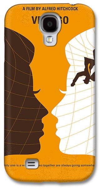 No510 My Vertigo Minimal Movie Poster Galaxy S4 Case by Chungkong Art