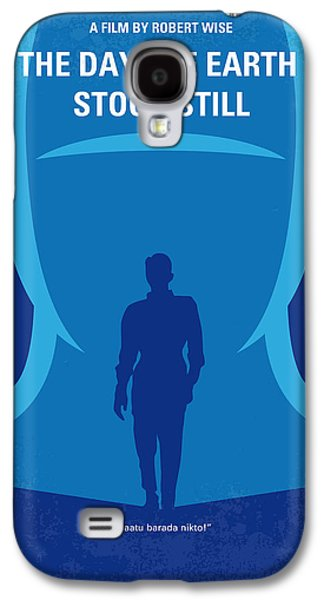 No514 My The Day The Earth Stood Still Minimal Movie Poster Galaxy S4 Case by Chungkong Art