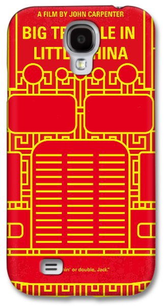 Magician Galaxy S4 Case - No515 My Big Trouble In Little China Minimal Movie Poster by Chungkong Art