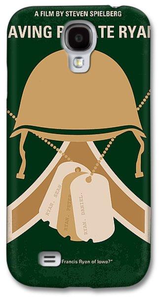 No520 My Saving Private Ryan Minimal Movie Poster Galaxy S4 Case by Chungkong Art