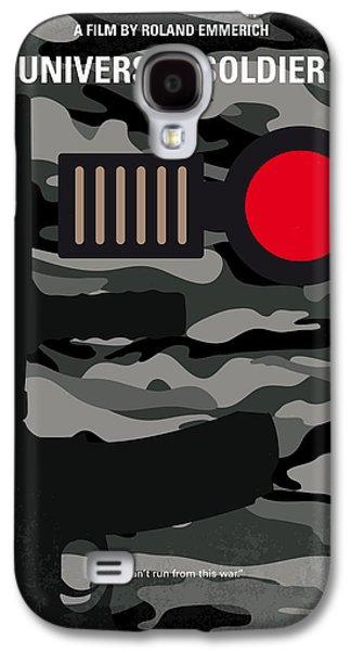 No523 My Universal Soldier Minimal Movie Poster Galaxy S4 Case