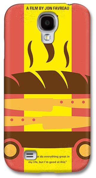 No524 My Chef Minimal Movie Poster Galaxy S4 Case by Chungkong Art